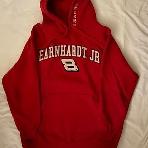 Chase Authentic Dale Earnhardt Jr. red hoodie